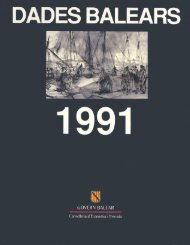 dadesbalears' govern balear - Biblioteca Digital de les Illes Balears