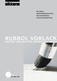 RUBBOL VORLACK - Sikkens Shop