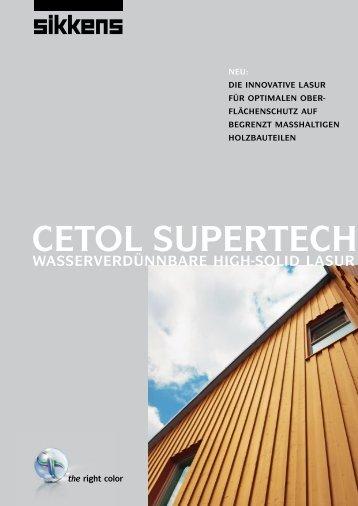 CETOL SUPERTECH