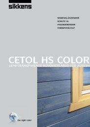 CETOL HS COLOR - Egon Horz