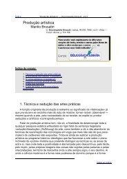 """""""Produção Artística"""" — Enciclopédia Einaudi - Sapo"""