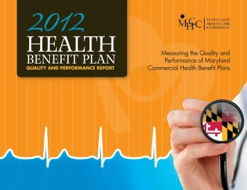 2012 Health Benefit Plan Quality and Performance Report
