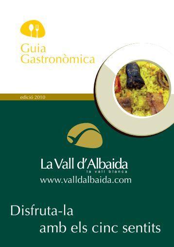 GUIA 2010 GASTRONOMICA-APP.indd - La Vall d'Albaida