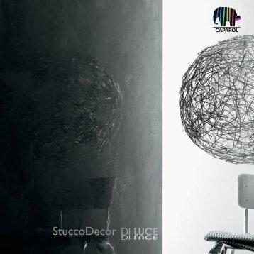 StuccoDecor DI LUCE Farbtonfolder - Caparol Farben AG
