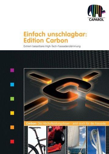 Einfach unschlagbar: Edition Carbon - maler-huber