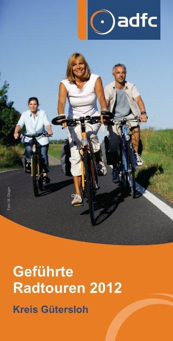 Kreis Gütersloh Geführte Radtouren 2012 - beim ADFC