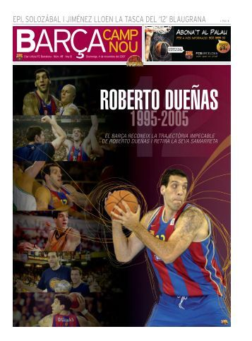 Roberto Dueñas - FC Barcelona