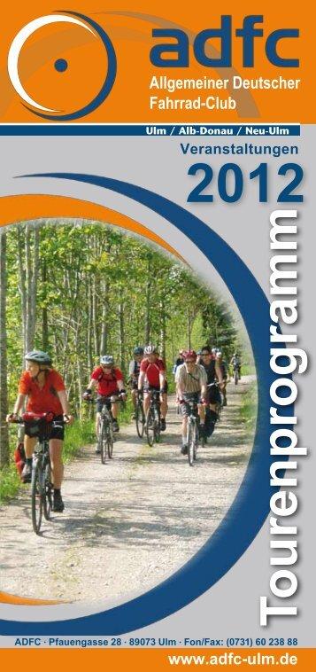 Komplettes Tourenprogramm 2012 als PDF-File - ADFC ...