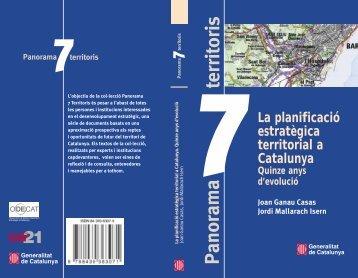 La planificació estratègica territorial a Catalunya - Diputació de ...