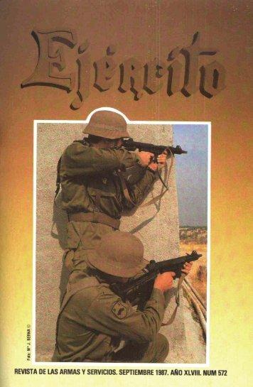 Nº 572 1987 Septiembre - Portal de Cultura de Defensa - Ministerio ...