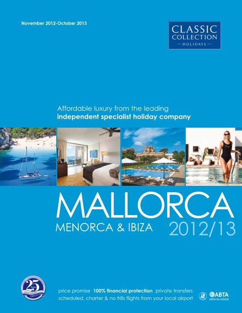 Classic Collection – Balearic Islands – Mallorca, Menorca & Ibiza