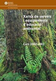 Benvinguts a la xarxa de serveis i equipaments d'educació ambiental