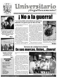No. 28 · Lunes 31 de marzo 2003 - Publicaciones - Universidad ...