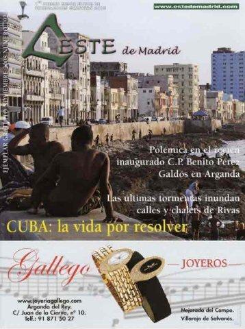 """Revista """"Este de Madrid"""" (1991-2009) - Archivo de Arganda del Rey ..."""