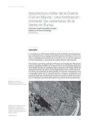 Arquitectura militar de la Guerra Civil en Murcia - Amigos del Museo ...