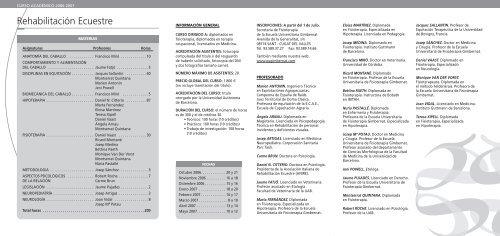 Fisio Ecuestre esp. (Page 1) - Emagister