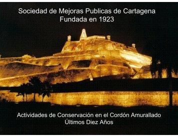 Obras en el último decenio - Sociedad de Mejoras Públicas de ...