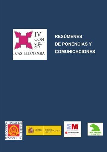 resúmenes de ponencias y comunicaciones - Asociación Española ...