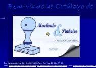 Bem-vindo ao Catálogo do - Machado & Pinheiro