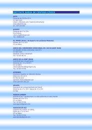 entitats xarxa de centres c\355vics - Ajuntament de Vilanova i la Geltrú
