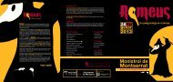 programa romeus 2013 - Turisme Monistrol