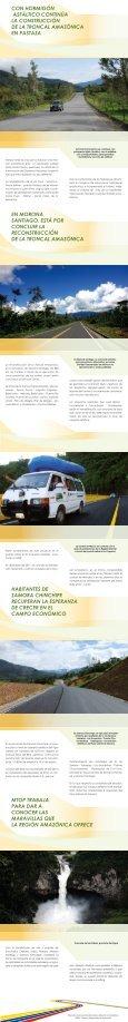 TRONCAL AMAZONICA - Ministerio de Transporte y Obras Públicas - Page 2