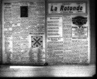 La Rotonde 15 avril 1933
