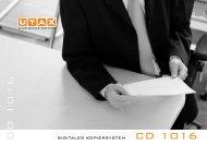 UTAX CD 1016 - Adam Bürosysteme GmbH