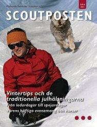 Vintertips och de traditionella julhälsningarna - Finlands Scouter ry