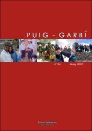 Revista Puig Garbí nº 35 - Grupo Scout Resurrección 433 - Alicante