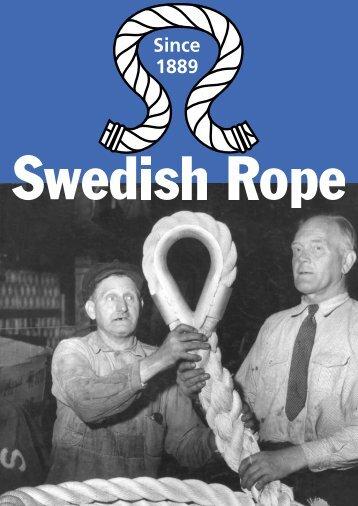 Ladda ner vår katalog här - Swedish Rope