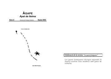 ÀGAPE - Departament de Filologia Catalana