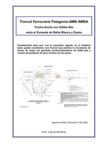 Troncal Ferroviaria Patagonia-AMB-AMBA - Inicio Público Proyecto ...