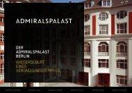 DER ADMIRALSPALAST BERLIN WIEDERGEBURT EINES ...