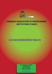 members directory 2011/12 tamfi - Tanzania Association of ...