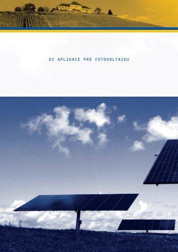 DC aplikace pro fotovoltaiku