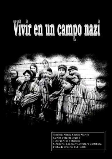 Vivir en un campo nazi - IES Mediterrània