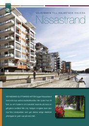 Se mer av Nissastrands kvarter! Ladda ner vår broschyr från 2009 ...