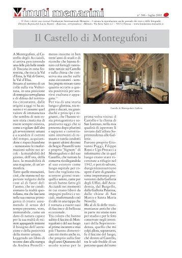 306 Il Castello di Montegufoni - Fondazione Internazionale Menarini