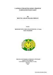 laporan praktek kerja profesi farmasi rumah sakit di rsup h. adam ...