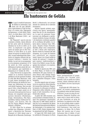entitats - Ajuntament de Gelida