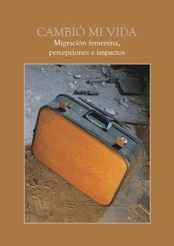 Para el Ecuador, la migración constituye uno de los fenómenos ...