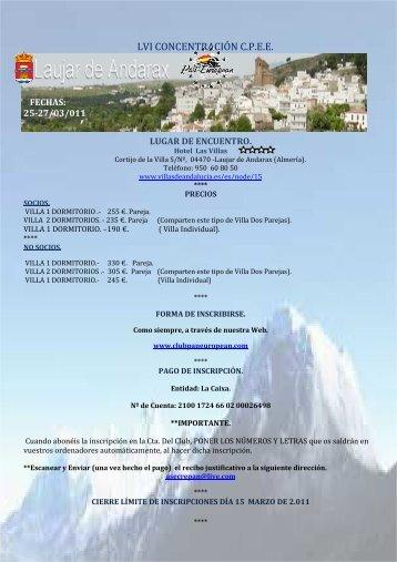 Programa Completo - Club Pan-European España