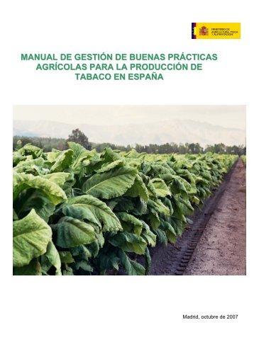 manual de gestión de buenas prácticas agrícolas para la ...