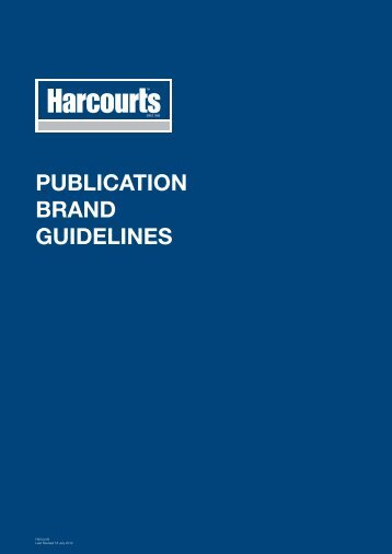 PUBLICATION BRAND GUIDELINES - Harcourts Brand Standards