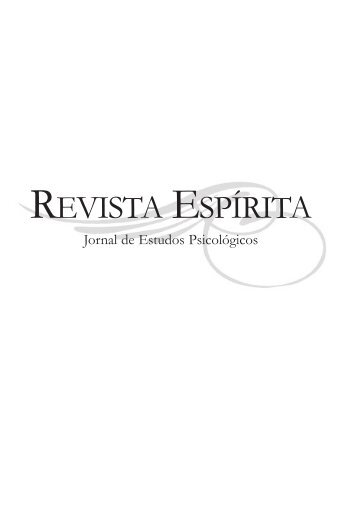 Revista Espírita (FEB) - 1860 - Autores Espíritas Clássicos