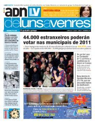 44.000 estranxeiros poderán votar nas municipais de 2011 - Galiciaé