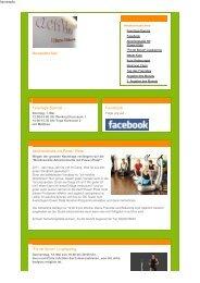 Newsletter Mai Feiertags-Special Facebook ... - actiViva