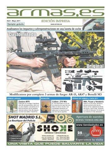 Modificamos por completo 3 armas de fuego: AR-15 ... - Armas.es