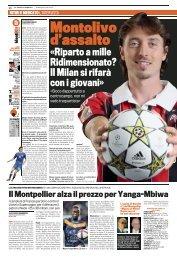 La Gazzetta dello Sport, 29-07-2012 - Riccardo Montolivo